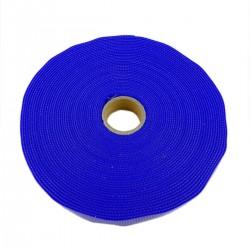 Bobina de cinta adherente de 15mm x 10m de color azul