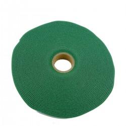 Bobina de cinta adherente de 15mm x 10m de color verde