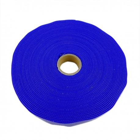 Bobina de cinta adherente de 20mm x 10m de color azul