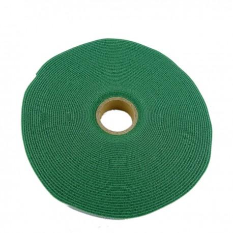Bobina de cinta adherente de 20mm x 10m de color verde