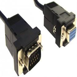 Cable VGA 0.5m (HD15-M/H)