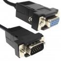 Cable VGA 1.0m (HD15-M/H)