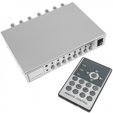 Sistema Quad para CCTV de 4 canales de vídeo
