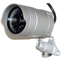 Cámara Profesional CCTV Soporte Pared (36 IR-LED 4.3mm)