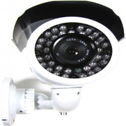 Cámara Profesional CCTV Soporte Pared (36xIR-LED 6.0mm) gris