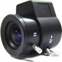 Objetivo varifocal electrónico de 3,5 mm a 8,0 mm y F1,4