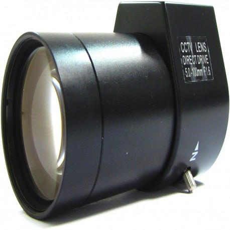 Objetivo varifocal electrónico de 5,0 mm a 100,0 mm y F1,6