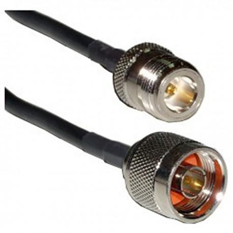 Cable coaxial HDF200 N-macho a N-hembra 2m
