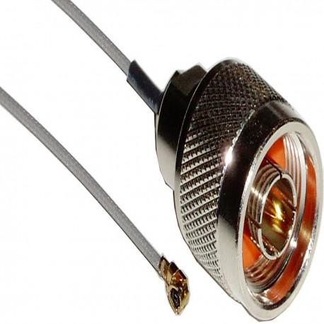 Cable 1.13mm 20cm (U.FL-Macho/N-Macho)