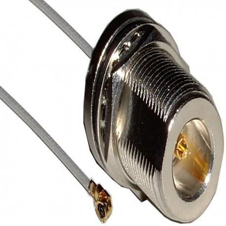 Cable 1.13mm 20cm (U.FL-Macho/N-Hembra)