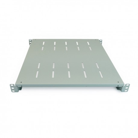 "Bandeja rack 19"" ajustable en profundidad 450 mm 1U blanco"