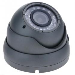 Cámara domo 700TVL metal 1/4 36 LED 85x118mm metálica