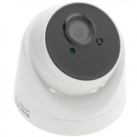 Cámara CMOS NVR H.264 IP 1MPx domo 94x75mm Network Video Recorder CCTV con PoE