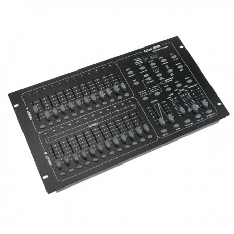Controlador DMX 512 de 24 deslizadores 6U