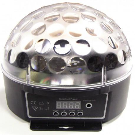 Bola LED DMX512 luz RGB cristal
