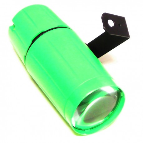 Foco LED pinspot 3W luz verde