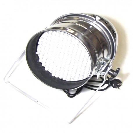 Foco PAR64 de 177 LED de 10mm cromado