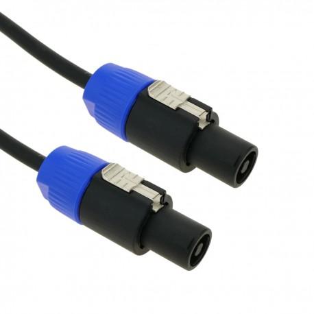 Cable speakon altavoces NL2 2x1.5mm 15GA 5m