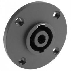 Conector speakon NL4 4polos hembra chapa metal