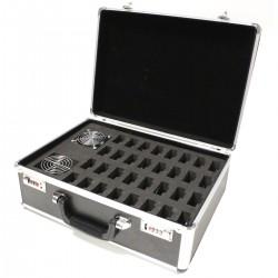 Cargador portátil para 32 audioguía inalámbrico tipo maleta