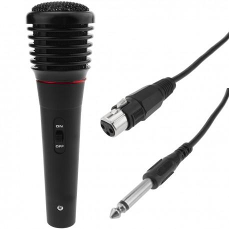 Micrófono dinámico para karaoke y conferencias 125-8000 Hz