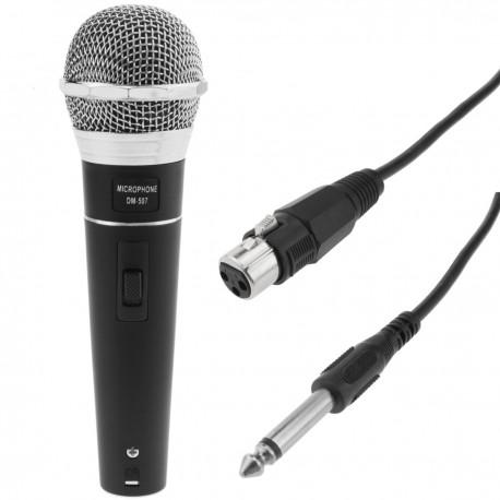 Micrófono dinámico para karaoke y conferencias 80-12500 Hz