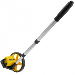 Odómetro de rueda para medición de distancia. Topómetro de diámetro 160 mm