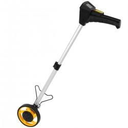Odómetro digital de rueda para medición de distancia. Topómetro de diámetro 160 mm