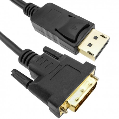 Cable de vídeo DisplayPort macho a DVI-D macho 3 m
