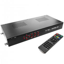 Videowall matriz de vídeo de 9 pantallas 3x3 HDMI DVI CVBS VGA
