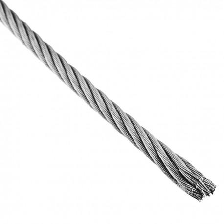 Cable de acero inoxidable de 6,0 mm en bobina de 50 m