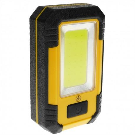 Linterna de camping LED 4W con imán y colgador con PowerBank 4000 mAh