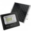 Foco LED exterioFoco de luz LED de 60W para exterior IP65 con batería recargable 20000 mAh y panel solarr IP 65. Solar 60W