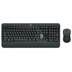 Teclado y ratón Wireless Logitech MK540 layout español negro 920-008680