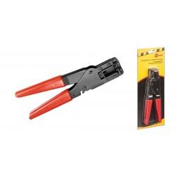 Alicate para crimpar conectores F cable RG 6/59