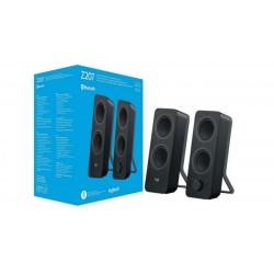 Altavoces 2.0 Logitech Z207 10W RMS Bluetooth negro 980-001295