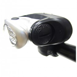 Faro LED para bicicleta frontal blanco