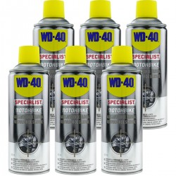 Abrillantador de silicona SPECIALIST MOTORBIKE 400 ml (caja de 6 uds)