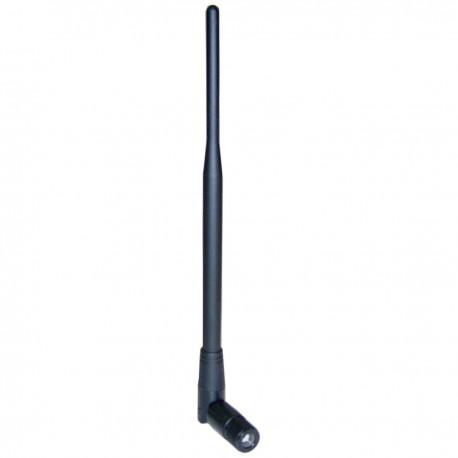 Antena WiFi omnidireccional compacta rSMA de 2.4 GHz y 5 dBi