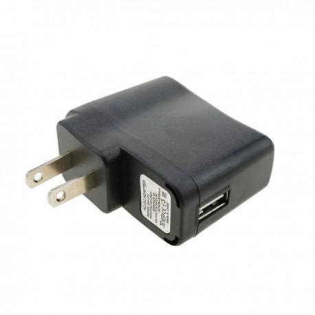 Fuente de alimentación USA 100-240VAC a USB A hembra 5VDC 500mA