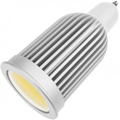 Bombilla LED COB GU10 230VAC 7W 90° 50mm luz día