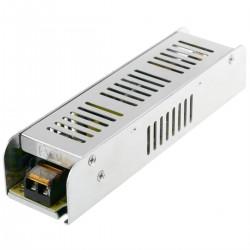 Fuente de alimentación. Transformador eléctrico industrial 12VDC 8.3A. Tamaño 47 x 187 x 37 mm