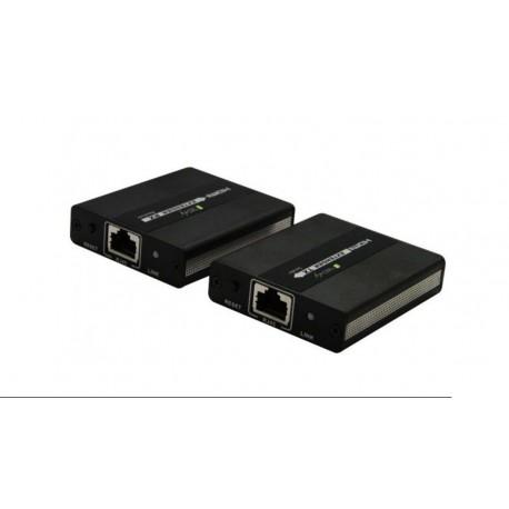 Kit de extensión HDMI por UTP Cat. 5E/6 hasta 120m