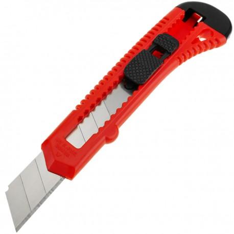 Cúter de plástico con cuchilla de 18mm