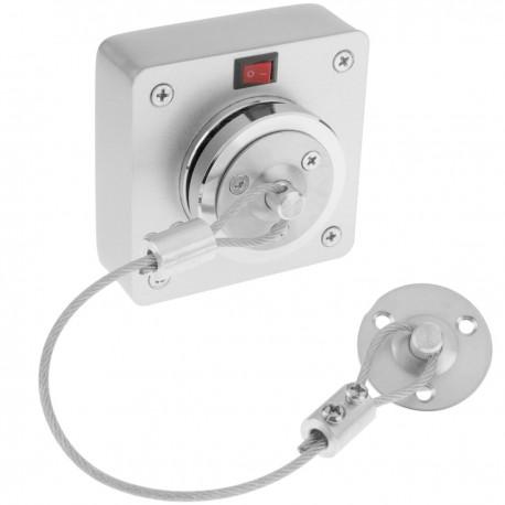 Retenedor de puerta electromagnético