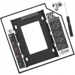 """Adaptador de disco óptico ODD CD DVD a disco duro SATA 2.5"""" para ordenador portátil 12.7mm"""