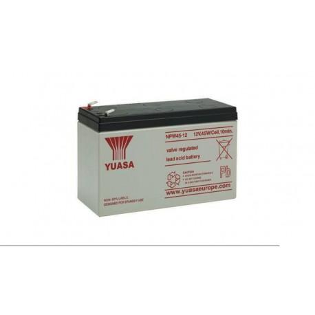 Batería Yuasa NPW45-12 plomo ácido 12V 9Ah