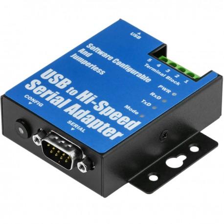 Adaptador USB a RS-422 RS485 VSCOM PRO 1-Port DINRail USB-COMi PRO