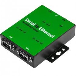 Servidor serie 2 x RS-232/422/485 NCOM-213-M