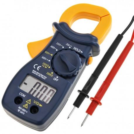 Multímetro digital con pinza amperimétrica AC/DC